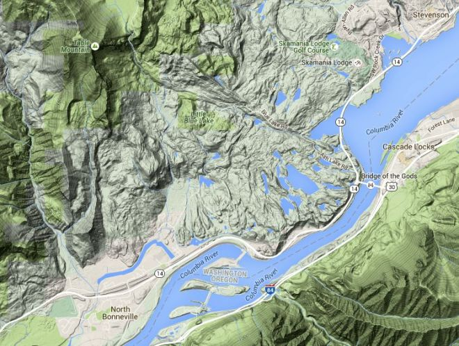 Cascade Locks Fire Map.Emergency Preparedness Hayden Island